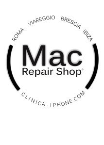 mac repair shop logo